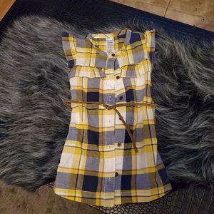 Carter's plaid print dress